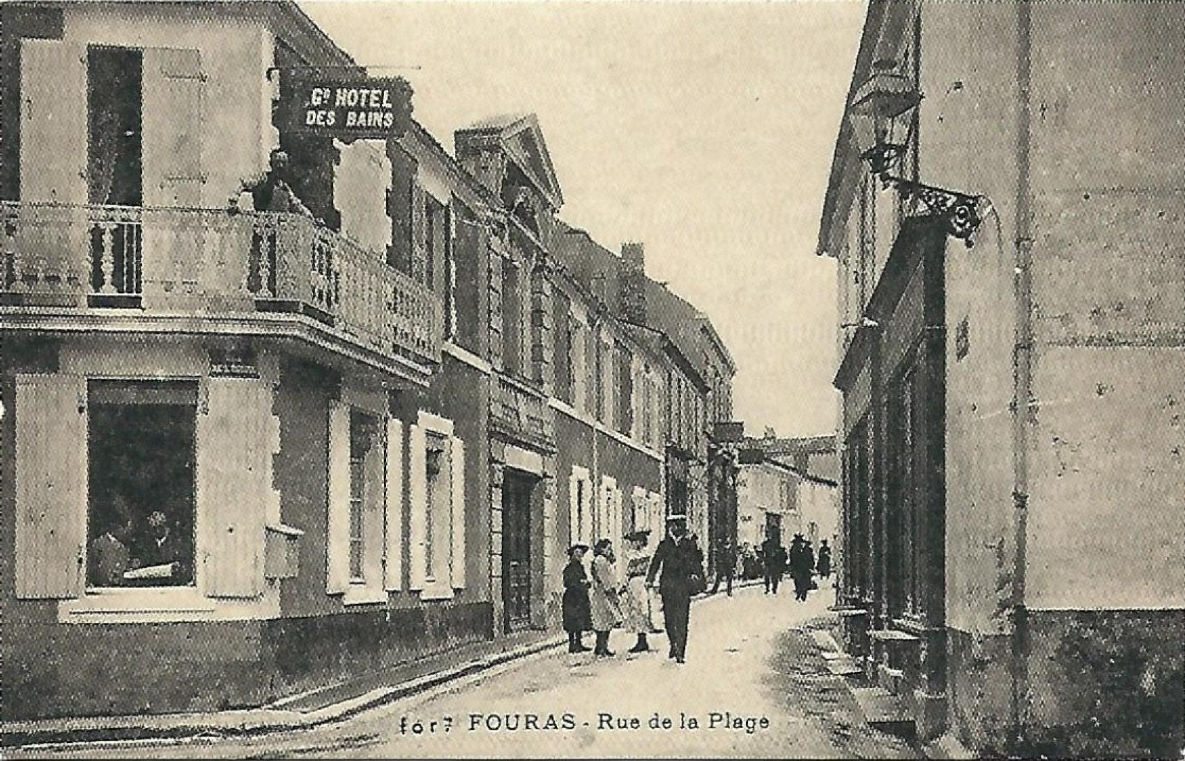 Historia fouras grand h tel des bains spa for Hotel fouras grand hotel des bains